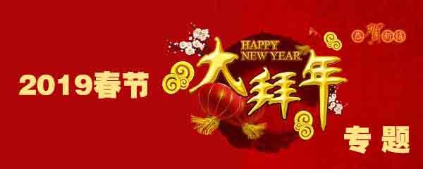 2019春节大拜年